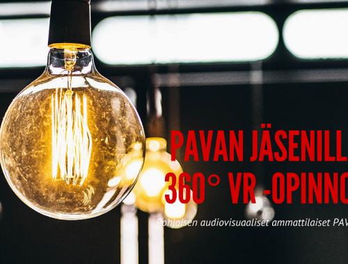 OAMK järjestää etuoikeudella PAVAn jäsenille 360 VR-sisältökoulutusta.