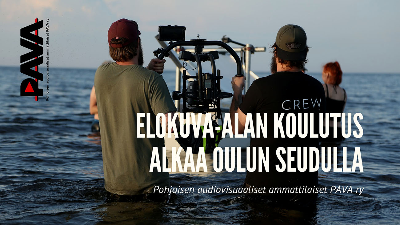 Elokuva-alan koulutus alkaa Oulussa